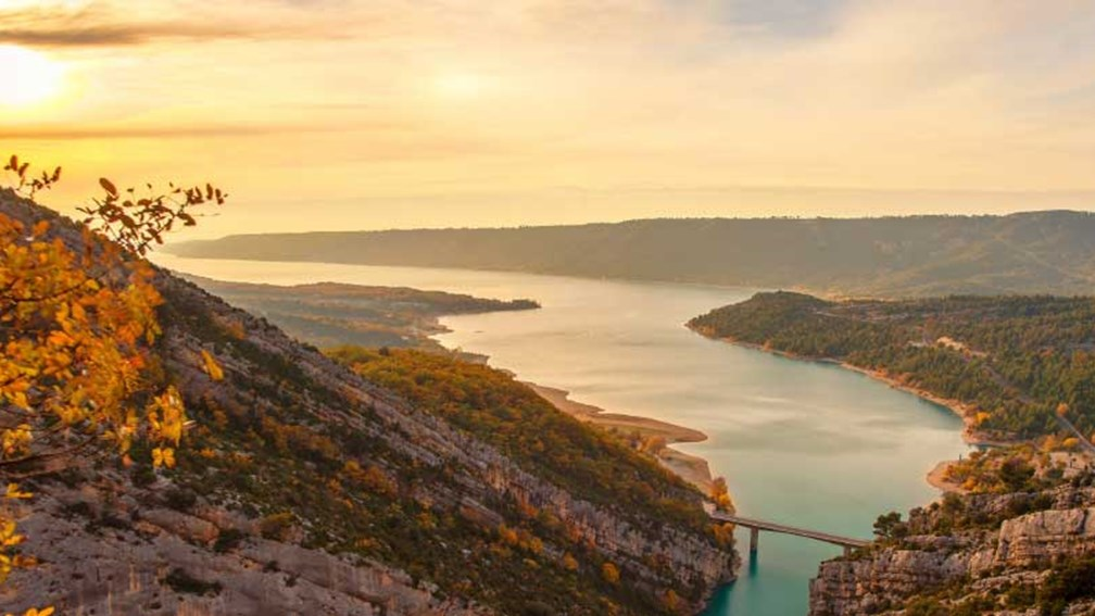 The Gorges du Verdon is considered Europe's Grand Canyon. // © 2013 Shutterstock 2