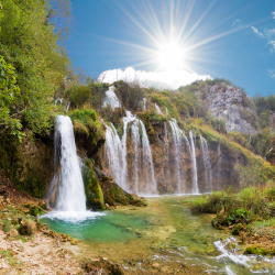Plitvice Lakes National Park is a World Heritage Site. // © 2013 Thinkstock
