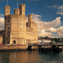 Wales' Caernarfon Castle, the location of the investiture of Prince Charles // © 2014 CIE Tours international