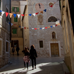 "<p>The coastal city of Sibenik served as a filming location for ""Game of Thrones."" // © 2016 Megan Leader</p><p>Feature image (above): The historic..."