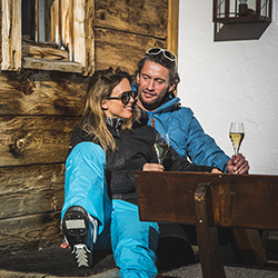<p>Guests visiting Austria have several lodging options for an apres-ski experience. // © 2015 Tirol Werbung</p><p>Feature image (above): Hohe Mut Alm...