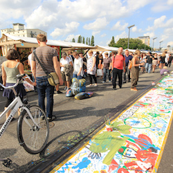 <p>Set around Berlin's Oberbaum Bridge, Open Air Gallery is an ideal event for art lovers, with works by more than 100 artists on display. // © 2015...