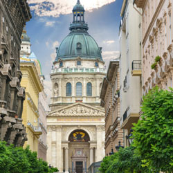 <p>St. Stephen's Basilica // © 2014 Thinkstock</p><p>Feature image (above): Located on the Buda side of Budapest, the Hungarian Parliament Building is...