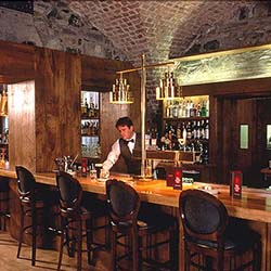 <p>The Cellar Bar is located in a series of wine vaults that date back to the 1700s. // © 2016 The Cellar Bar</p><p>Feature image (above): The Swan...