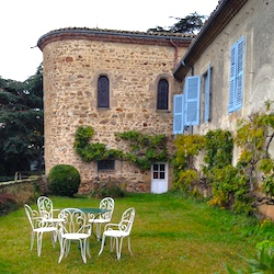 <p>Chateau de Volan is one family-owned bed-and-breakfast option in France's Pilat Regional Natural Park. // © 2015 Georgeanne Brennan</p><p>Feature...