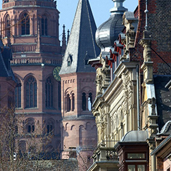 <p>Mainz, the capital city of Rhineland-Palatinate, was originally established by the Romans as a military post in the first century B.C. // © 2015...