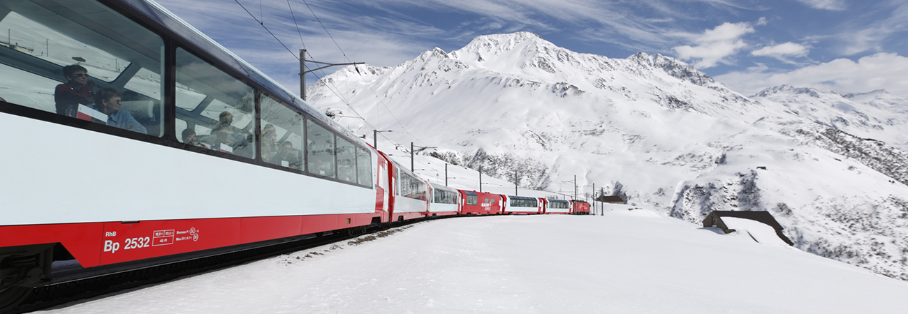 Riding the Glacier Express