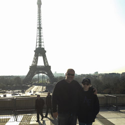 <p>The writer and his son on a Monograms tour at the Eiffel Tower // © 2014 Kenneth Shapiro</p><p>Feature image (above): The Basilica of the Sacre...