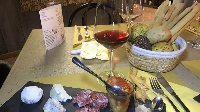 Enoteca Regionale del Monferrato offers delicious wines paired with regional specialties.