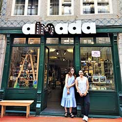 <p>Almada 13 houses five boutique shops in one location. // © 2018 Charmaine Noronha</p><p>Feature image (above): Porto is full of trendy shops, bars,...