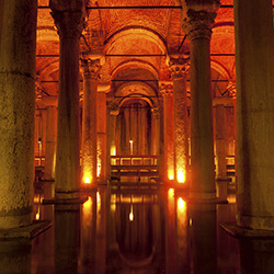 <p>Basilica Cistern // © 2015 Thinkstock</p><p>Feature image (above): Hagia Sophia was converted from a Greek orthodox patriarchal basilica. // © 2015...