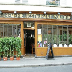 "<p>The Cremerie-Restaurant Polidor is one of the main settings in Woody Allen's ""Midnight in Paris."" // © 2014 Creative Commons user <a..."