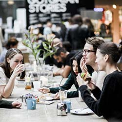 "<p>Enjoy Stockholm's ""fika"" tradition, which means meeting over pastries and coffee. // © 2017 VisitSweden</p><p>Feature image (above): Ostermalms..."