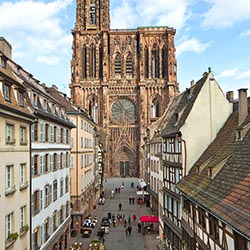 <p>Visitors to Strasbourg will find plenty of charm, medieval buildings, museums and other tourist attractions. // © 2016 Strasbourg Tourist Office/...