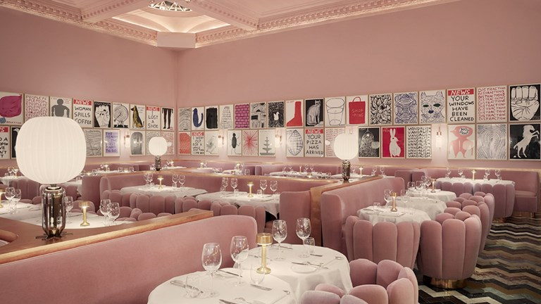 Sketch in London is a whimsical collection of restaurants with creative dishes.