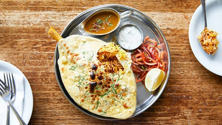 Dishoom presents a modern take on Bombay cuisine.