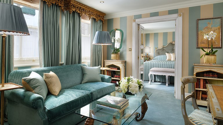 The Milestone Hotel's newly renovated Venetian Suite