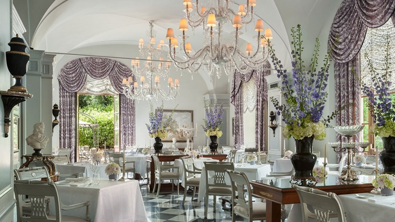 Itineraries include Michelin-starred restaurants, such as Il Palagio at Four Seasons Hotel Firenze.
