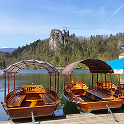 <p>Guests can take boats onto Lake Bled in Slovenia, an emerging European destination for 2016. // © 2015 Intrepid Travel</p><p>Feature image (above):...