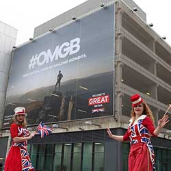 <p>This year's ExploreGB conference featured the #OMGB social media campaign, which encourages visitors to use the hashtag when posting about Great...