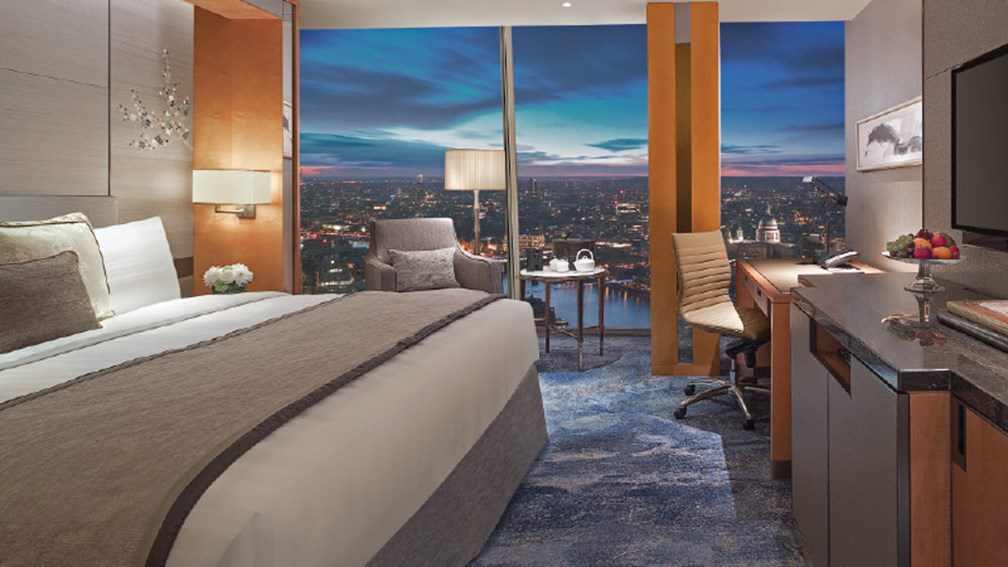Hotel Review Shangri La Hotel At The Shard London Travelage West