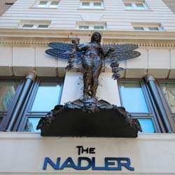 The exterior of the boutique property, Nadler Soho // © 2013 Nadler Hotels