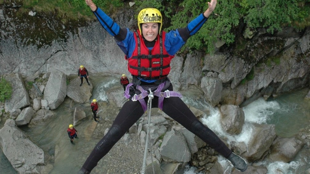 Outdoor Interlaken offers a variety of adventure sports from canyoning to river rafting. // © 2013 Outdoor Interlaken F