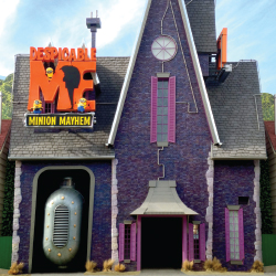 The Despicable Me: Minion Mayhem ride will open this spring. // © 2014 Univiersal