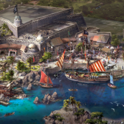 Shanghai Disney Resort will be home to Disney's first pirate-themed land. // © 2014 Disney