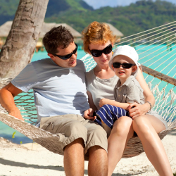 Unwind on Tahiti and Bora Bora with a family package from Tahiti.com. // © 2014 Thinkstock