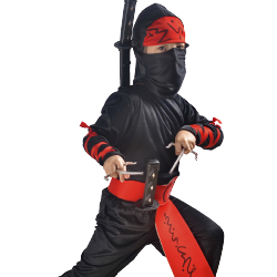 Children get a chance to dress up as a samurai. // © 2014 Thinkstock