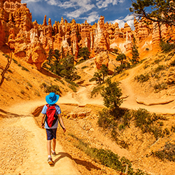 Families can explore Utah's Bryce Canyon with Grand American Adventures. // © 2015 Grand American Adventures