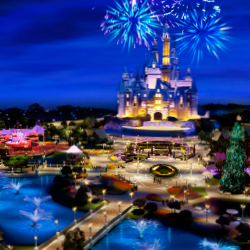 The new Disneyland resort will open this summer. // © 2016 Disney