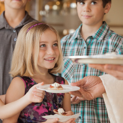 Children can become certified in social and fine-dining etiquette. // © 2016 The Resort at Pelican Hill
