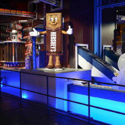 For the first time in 10 years, Hershey's Chocolate World has updated its tour. // © 2016 Hershey