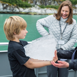 Kids have the chance to become junior rangers. // © 2017 Alaskan Dream Cruises