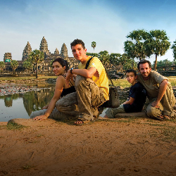 Intrepid's family-focused tours visit a variety of countries, such as Cambodia. // © 2017 Intrepid Travel