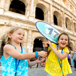 Families will now be able to visit cities such as Rome during Disney Cruise Line's newest European trips. // © 2017 Disney Cruise Line