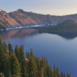 Oregon's Crater Lake National Park is part of a new family adventure tour with Austin-Lehman Adventures. // © 2013 Thinkstock