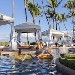 <p>The lazy river at Grand Wailea, A Waldorf Astoria Resort // © 2016 Grand Wailea</p><p>Feature image (above): The Coliseum Pool at Pelican Hill is a...