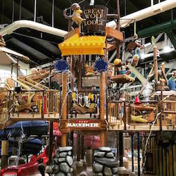 <p>Fort Mackenzie, a prominent feature in the 105,000-square-foot waterpark // © 2016 Chelsee Lowe</p><p>Feature image (above): The new property is...