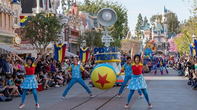 Disneyland Resort's Pixar Fest Celebrates Friendship