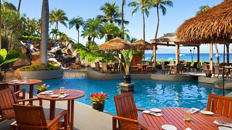 The Westin Maui's Oceanside Restaurant sets a pretty stage for breakfasts that are equal parts nutritious and delicious.