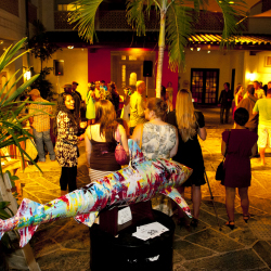 Art After Dark immerses visitors in local culture and art. // © 2013 Honolulu Museum of Art