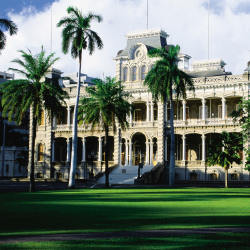 Iolani Palace is the only official state residence of royalty in the U.S. // © 2014 HTA/Joe Solem
