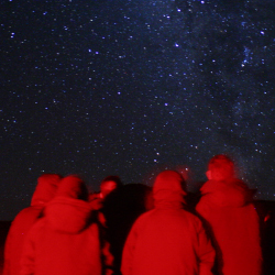 <p>Tour companies such as Mauna Kea Summit Adventures take guests on Hawaii Island stargazing trips. // © 2014 Mike Sessions</p><p>Large photo...