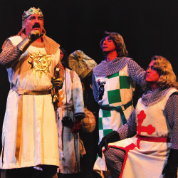 "Diamond Head Theatre Group presents top-quality productions of favorite shows such as ""Spamalot."" // © 2014 Brad Goda"