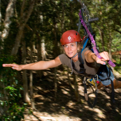 <p>In 2016, Kona will feature its first zipline course. // © 2015 HI Ziplines Kona</p><p>Feature image (above): On Maui, clients can book a new...