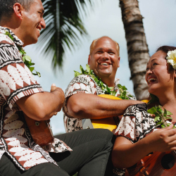 <p>Enlivening the Fern Grotto tour, musicians regale guests with Hawaiian song and dance. // © 2016 Smith's Kauai</p><p>Feature image (above): The...