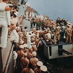 <p>Japan surrenders to the U.S. onboard the USS Missouri on Sept. 2, 1945. // © 2016 75th Commemoration Committee</p><p>Feature image (above): Pearl...